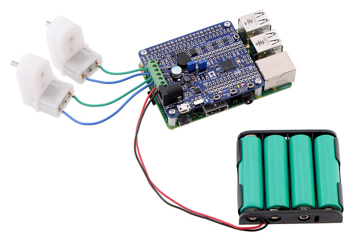 Wheel encoder with Raspberry Pi 3 - Other Pololu products