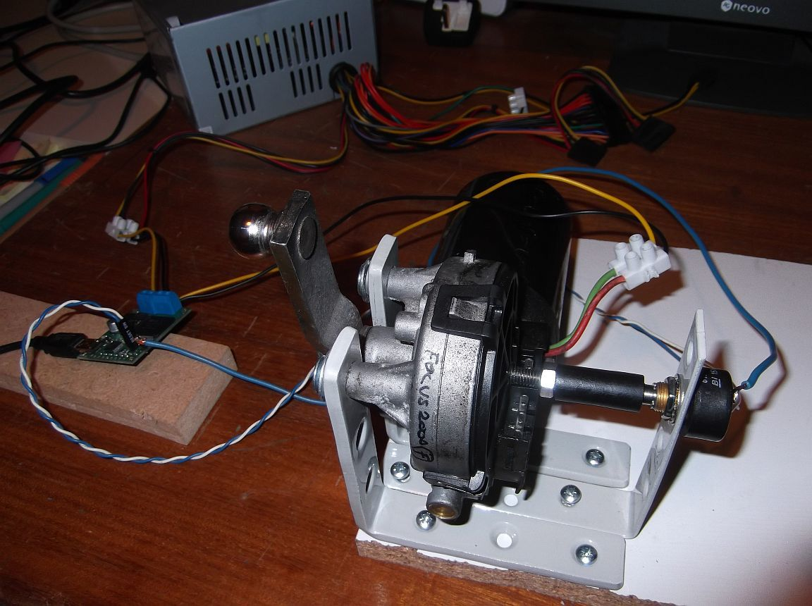 Potentiometer Feedback Help Motor Controllers Drivers