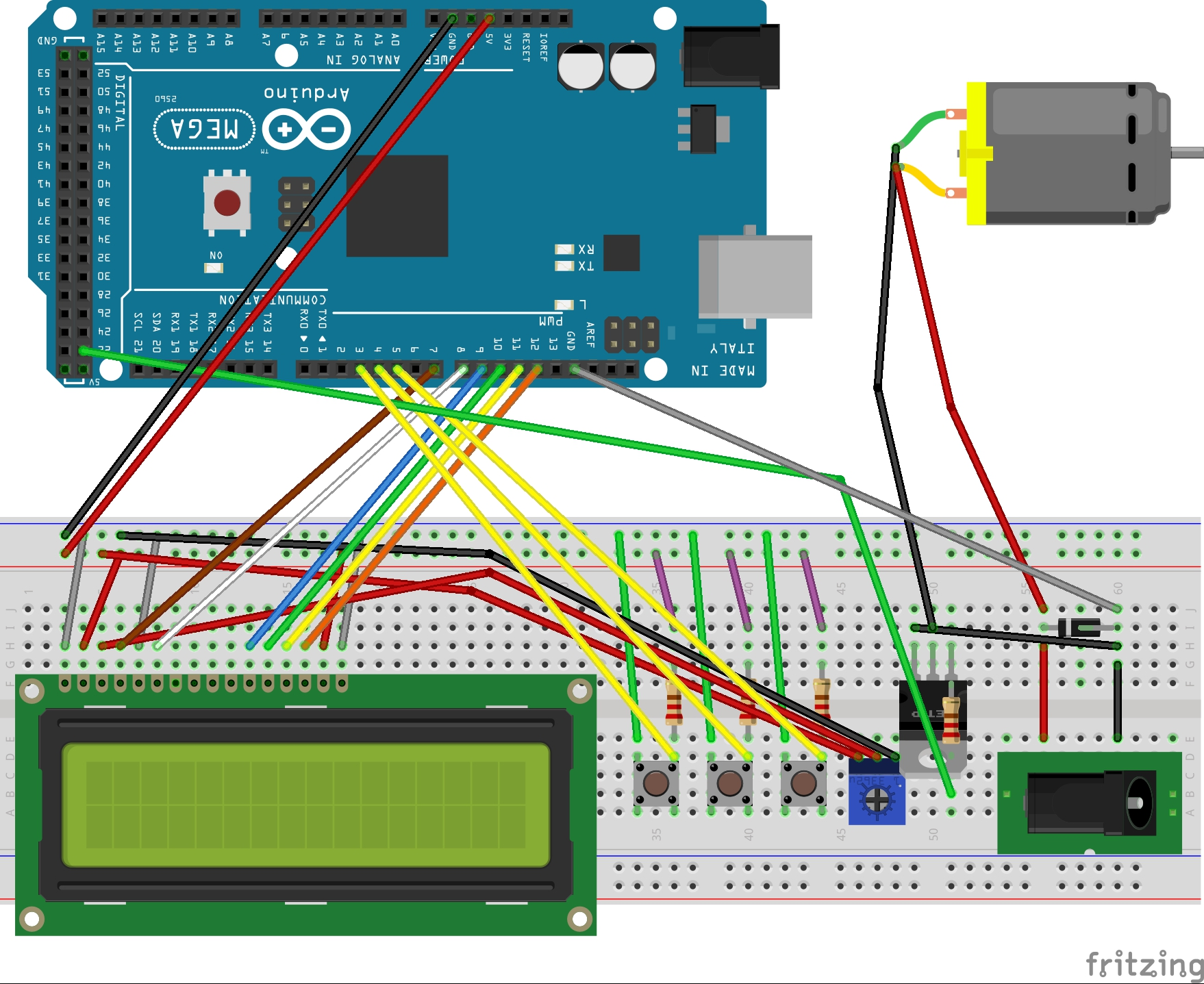 Fritzing part - pololu jrk 21v3 - Motor controllers/drivers
