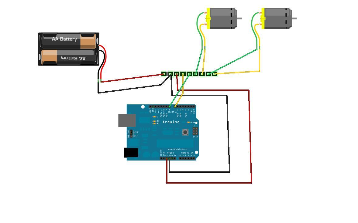 Simple 2-way Motor Control for the Arduino: 4 Steps