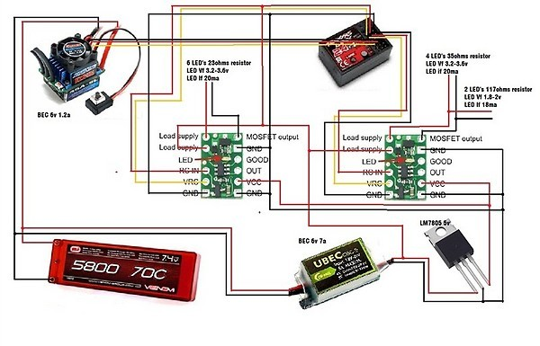 need help rc switch low mosfet other pololu products can someone check this wiring diagram for me please