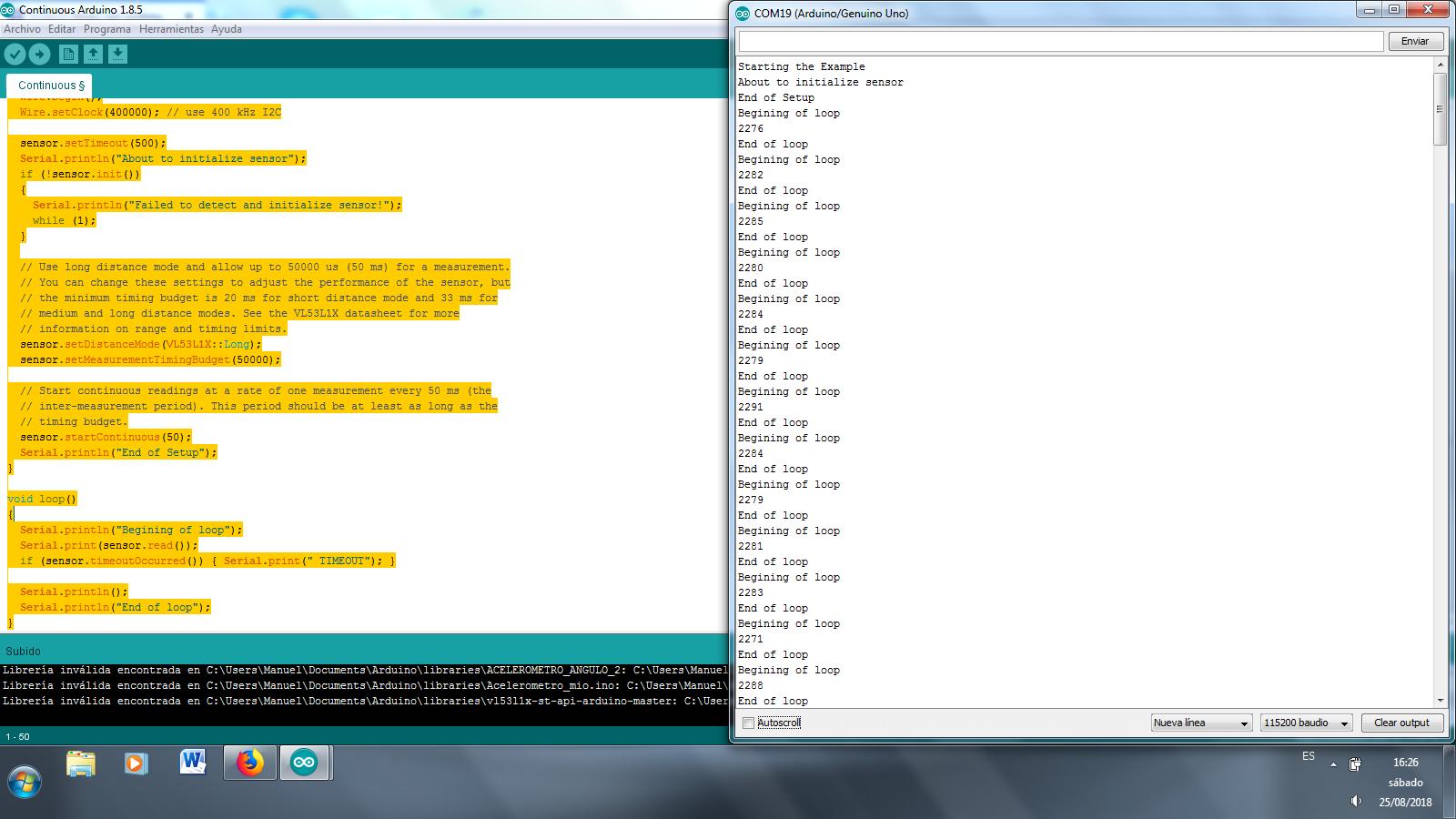 VL53L1X library not working - Sensors - Pololu Forum